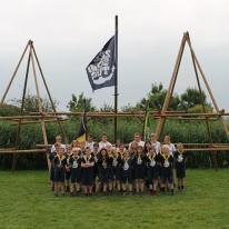 Groepsfoto's kamp 2019